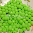 Muovikuula 6mm Fluorescent Bright Lime TFH® 50 kpl