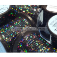 Tinseli Holographic tinsel Holo Black #10 UNI -products