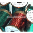UNI - Mylar tinseli Red / Green koko #10