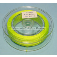 Pohjasiima TFH™ Dacron Polyesteri hot yellow greenish 20lb 100yds (91.44 m)