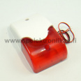 Siren with red light 110dB 12V / 200 mA