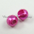 Tungsten Disco Beads Pinkish RED metallic 4.0 mm 20kpl TFH®