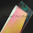 Color-changing pink-orange-yellow translucent chameleon tape